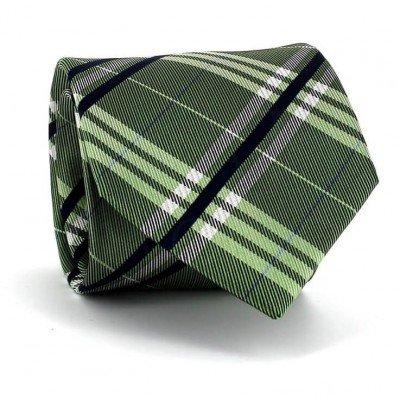 Corbata Cuadros Escoceses Verde