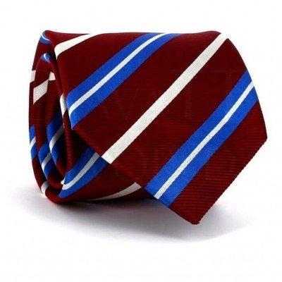 Corbata Rayas Roja