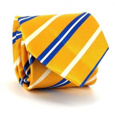 Corbata Rayas Amarilla