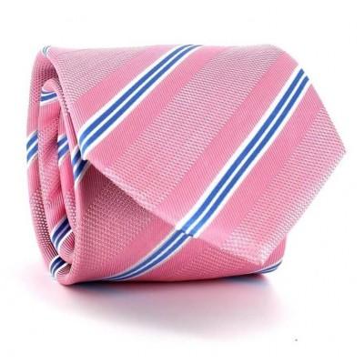Corbata Rayas Rosa