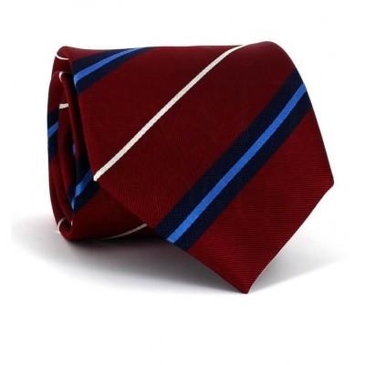 Corbata Rayas Granate