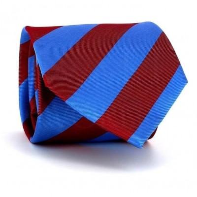 Corbata Rayas Azul y Roja
