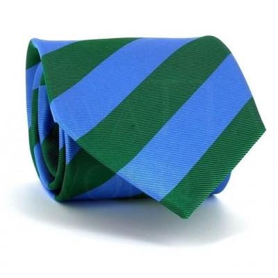 Corbata Rayas Azul y Verde