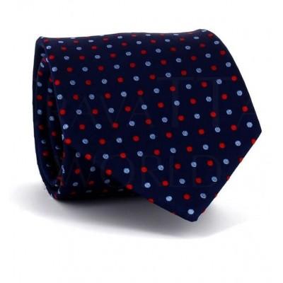 Corbata Lunares Azul Marino I