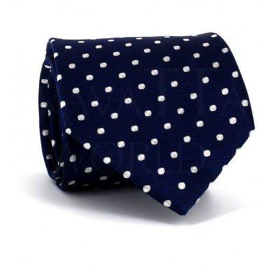 Corbata Lunares Azul Marino II