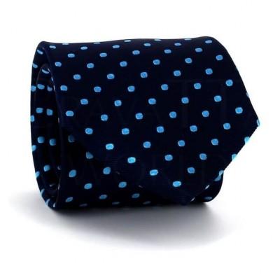 Corbata Lunares Azul Marino III