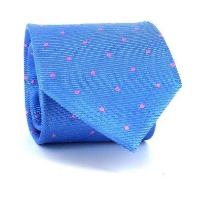 Corbata Lunares Azul Celeste