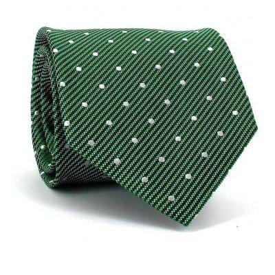 Corbata Lunares Verde Oscuro