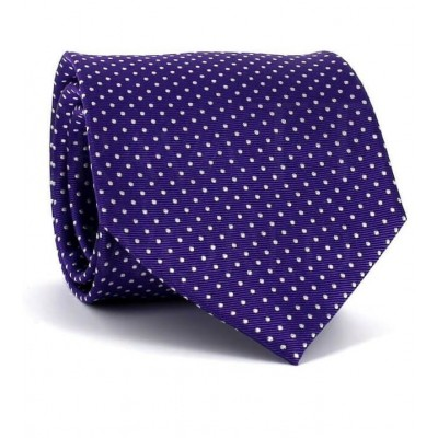 Corbata Puntos Púrpura