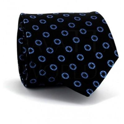Corbata Lunares - Estrellas Negra