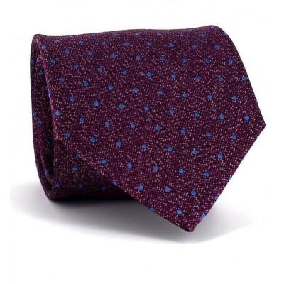 Corbata Lunares Violeta