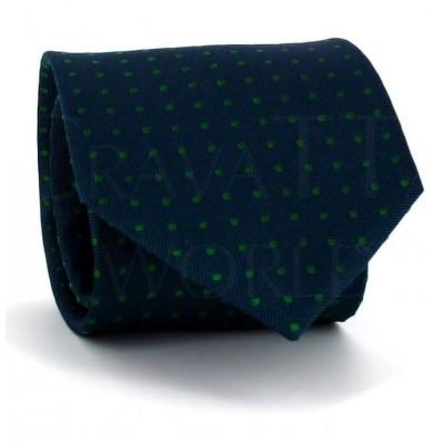 Corbata Lunares Verde