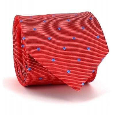 Corbata Lunares Roja