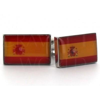 Gemelos Banderas España