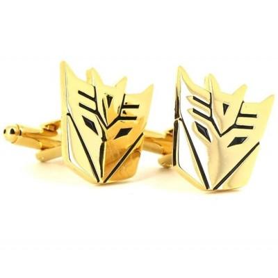 Gemelos Transformers Decepticons Dorados
