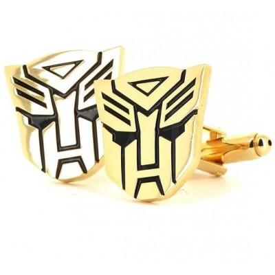 Gemelos Transformers Autobots Dorados
