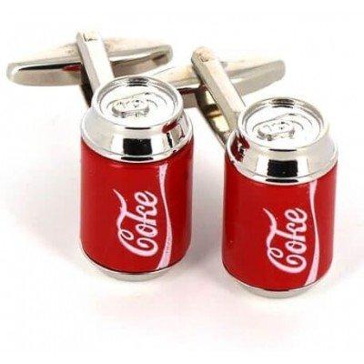 Gemelos Latas Coca Cola