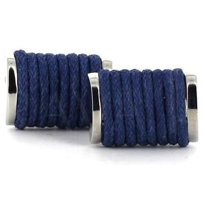 Gemelos Cuerdas Azules Oscuros