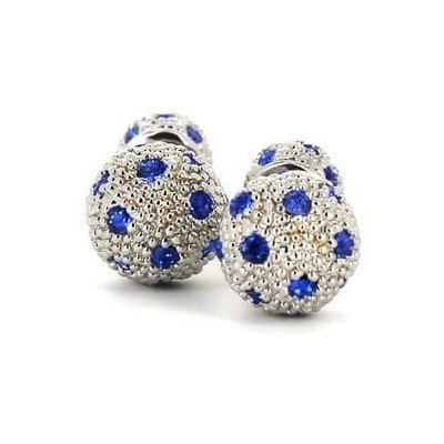 Gemelos Cristales Doble Bola
