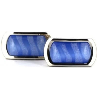 Gemelos Azules con Piedras