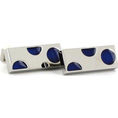 Gemelos Rectangulares con Círculos Azules