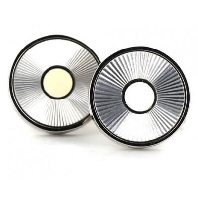 Gemelos Esmaltados Circulares Rayados