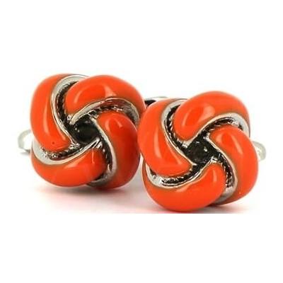 Gemelos Nudos Naranjas