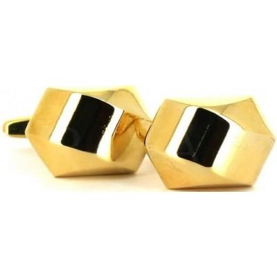 Gemelos Hexagonal Dorado