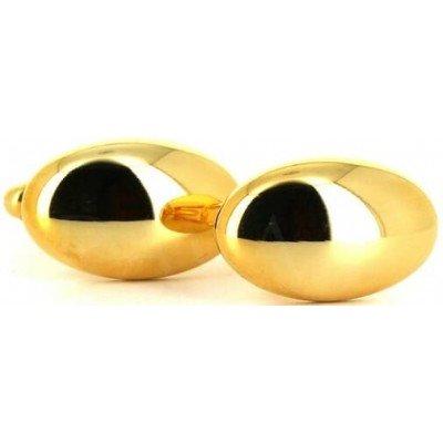 Gemelos Ovalados Dorados