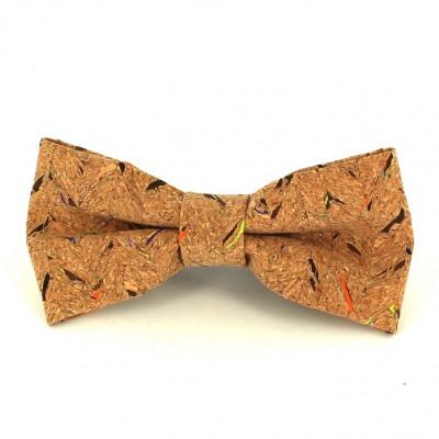 Pajarita de Corcho Motas Multicolor