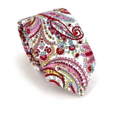 Corbata Estrecha Paisley