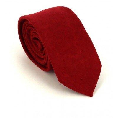 Corbata Estrecha Antelina Roja