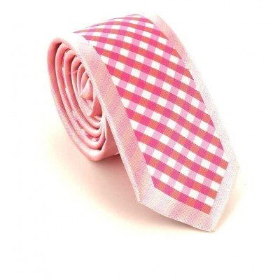 Corbata Estrecha Moderna Cuadritos