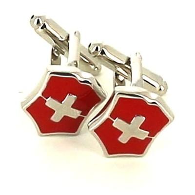 Gemelos Cruz Suiza Roja