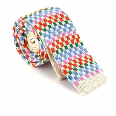 Corbata Punto Cuadros Multicolor I