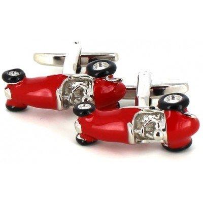 Gemelos Fórmula 1 Rojo Retro
