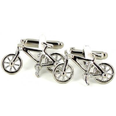 Gemelos Bicicletas Plateadas